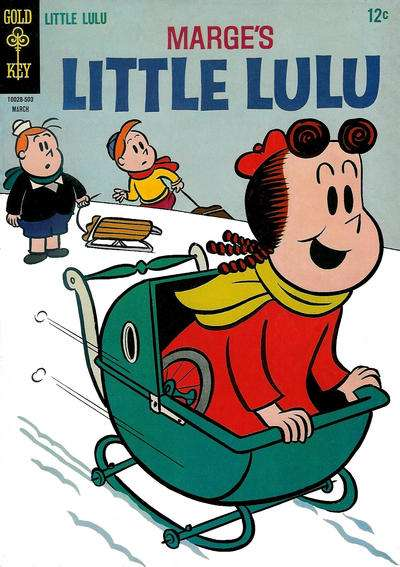 Marge's Little Lulu #175 comic books - cover scans photos Marge's Little Lulu #175 comic books - covers, picture gallery