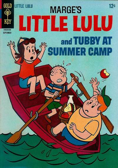 Marge's Little Lulu #181 comic books - cover scans photos Marge's Little Lulu #181 comic books - covers, picture gallery