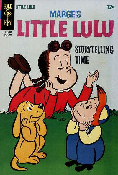 Marge's Little Lulu #186 comic books - cover scans photos Marge's Little Lulu #186 comic books - covers, picture gallery