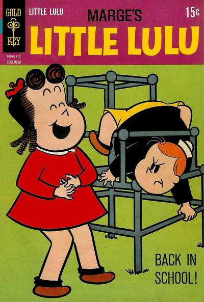 Marge's Little Lulu #190 comic books - cover scans photos Marge's Little Lulu #190 comic books - covers, picture gallery