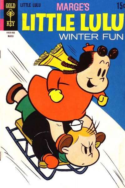Marge's Little Lulu #191 Comic Books - Covers, Scans, Photos  in Marge's Little Lulu Comic Books - Covers, Scans, Gallery