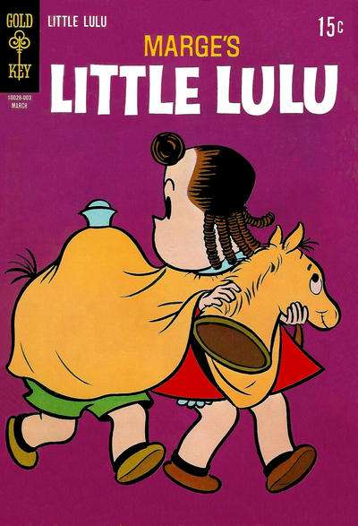 Marge's Little Lulu #195 comic books - cover scans photos Marge's Little Lulu #195 comic books - covers, picture gallery