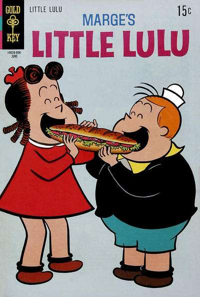 Marge's Little Lulu #196 comic books for sale