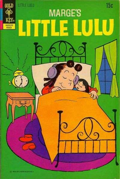 Marge's Little Lulu #203 comic books - cover scans photos Marge's Little Lulu #203 comic books - covers, picture gallery