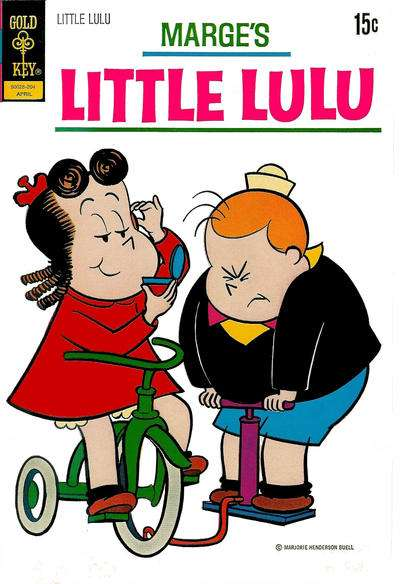 Marge's Little Lulu #204 comic books - cover scans photos Marge's Little Lulu #204 comic books - covers, picture gallery
