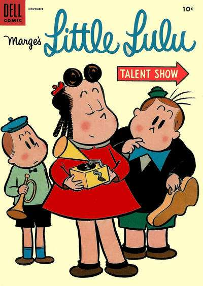 Marge's Little Lulu #77 Comic Books - Covers, Scans, Photos  in Marge's Little Lulu Comic Books - Covers, Scans, Gallery