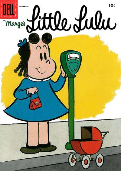 Marge's Little Lulu #89 comic books - cover scans photos Marge's Little Lulu #89 comic books - covers, picture gallery