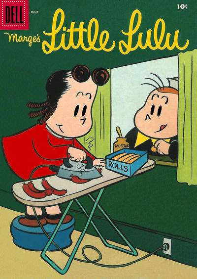 Marge's Little Lulu #96 comic books - cover scans photos Marge's Little Lulu #96 comic books - covers, picture gallery