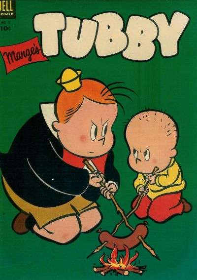 Marge's Tubby #5 comic books - cover scans photos Marge's Tubby #5 comic books - covers, picture gallery