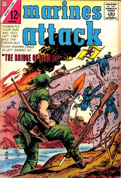 Marines Attack #3 comic books for sale