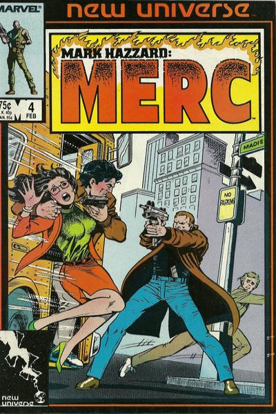Mark Hazzard: MERC #4 Comic Books - Covers, Scans, Photos  in Mark Hazzard: MERC Comic Books - Covers, Scans, Gallery
