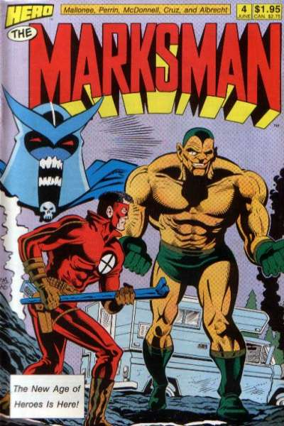 Marksman #4 comic books for sale