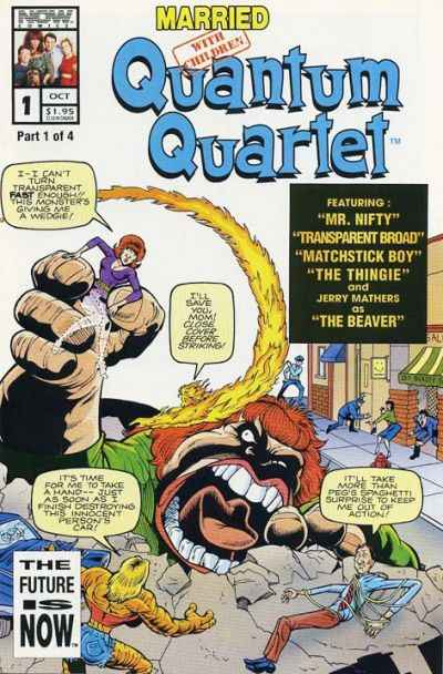 Married With Children: Quantum Quartet #1 comic books - cover scans photos Married With Children: Quantum Quartet #1 comic books - covers, picture gallery