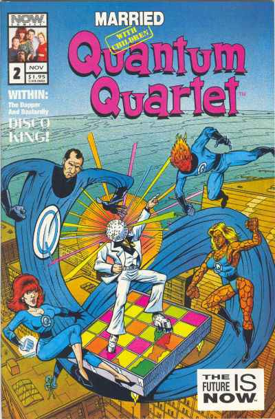 Married With Children: Quantum Quartet #2 comic books - cover scans photos Married With Children: Quantum Quartet #2 comic books - covers, picture gallery
