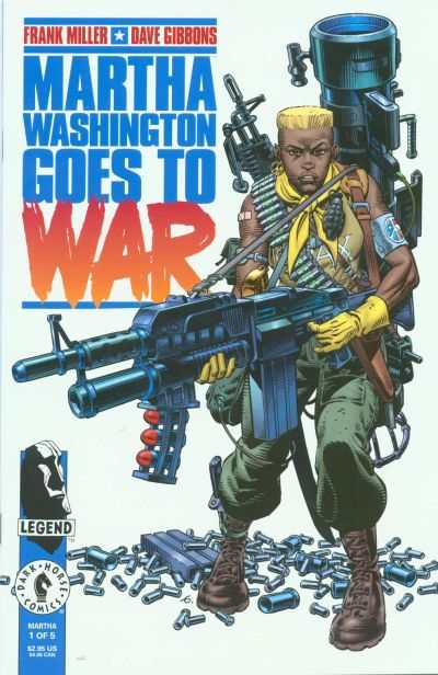 Martha Washington Goes to War comic books