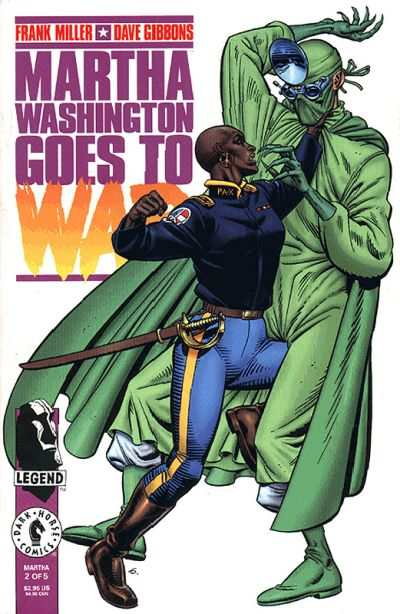 Martha Washington Goes to War #2 Comic Books - Covers, Scans, Photos  in Martha Washington Goes to War Comic Books - Covers, Scans, Gallery