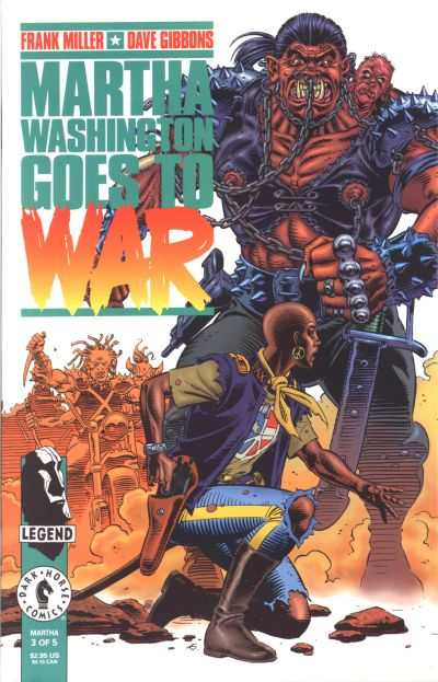 Martha Washington Goes to War #3 comic books for sale