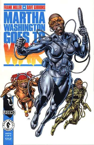 Martha Washington Goes to War #5 Comic Books - Covers, Scans, Photos  in Martha Washington Goes to War Comic Books - Covers, Scans, Gallery