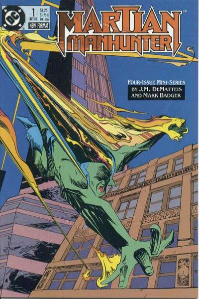 Martian Manhunter comic books