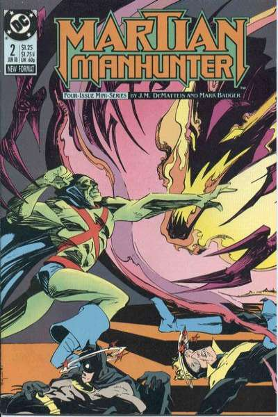 Martian Manhunter #2 comic books for sale