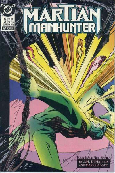 Martian Manhunter #3 comic books for sale