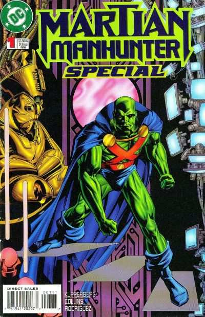 Martian Manhunter #1 comic books - cover scans photos Martian Manhunter #1 comic books - covers, picture gallery