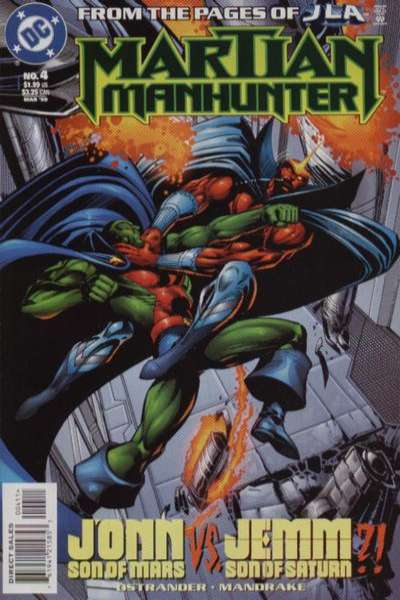Martian Manhunter #4 comic books for sale