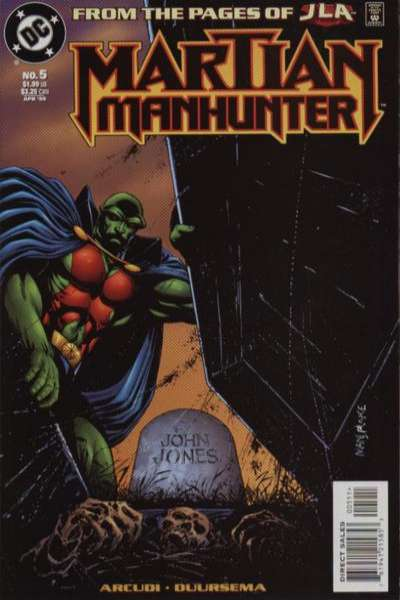 Martian Manhunter #5 comic books for sale
