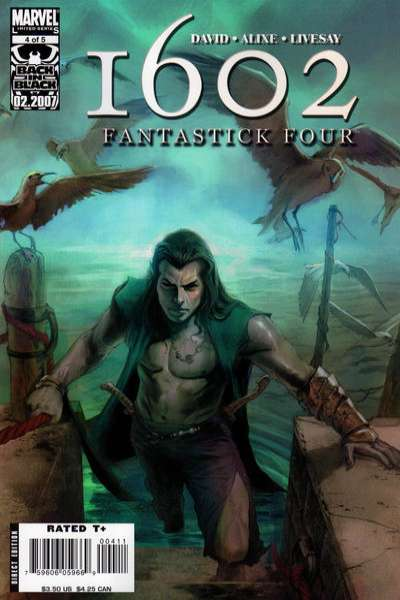 Marvel 1602: Fantastick Four #4 comic books for sale