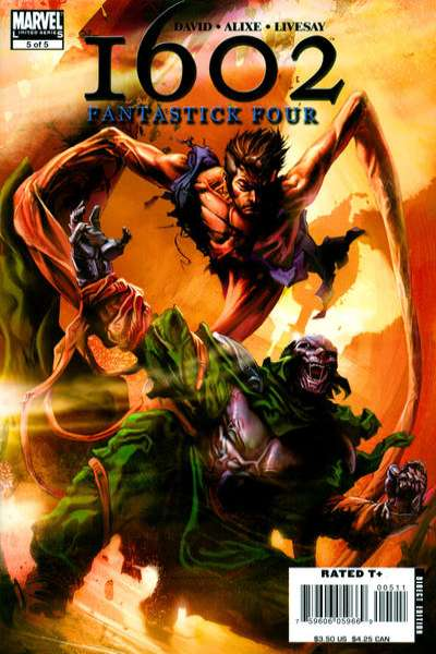 Marvel 1602: Fantastick Four #5 comic books for sale