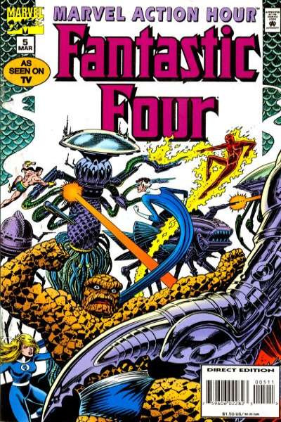Marvel Action Hour featuring the Fantastic Four #5 comic books for sale