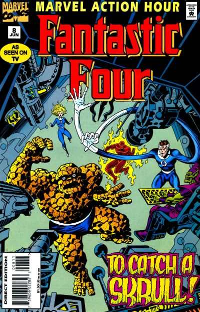 Marvel Action Hour featuring the Fantastic Four #8 comic books - cover scans photos Marvel Action Hour featuring the Fantastic Four #8 comic books - covers, picture gallery