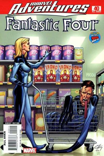 Marvel Adventures Fantastic Four #40 Comic Books - Covers, Scans, Photos  in Marvel Adventures Fantastic Four Comic Books - Covers, Scans, Gallery