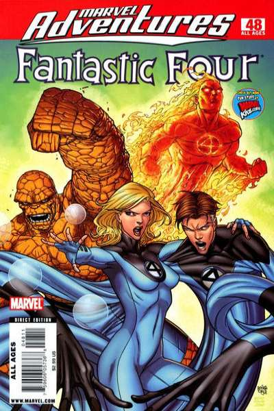 Marvel Adventures Fantastic Four #48 Comic Books - Covers, Scans, Photos  in Marvel Adventures Fantastic Four Comic Books - Covers, Scans, Gallery