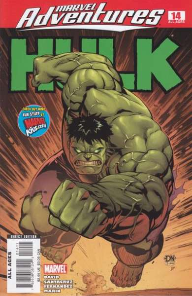 Marvel Adventures Hulk #14 Comic Books - Covers, Scans, Photos  in Marvel Adventures Hulk Comic Books - Covers, Scans, Gallery