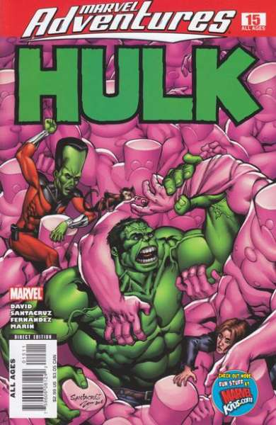 Marvel Adventures Hulk #15 comic books for sale