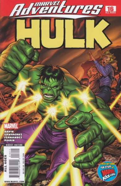 Marvel Adventures Hulk #16 Comic Books - Covers, Scans, Photos  in Marvel Adventures Hulk Comic Books - Covers, Scans, Gallery