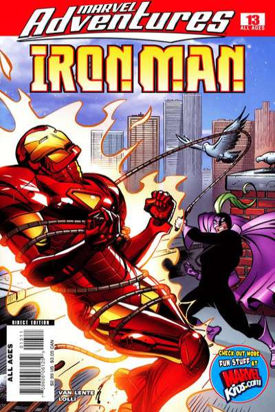 Marvel Adventures Iron Man #13 Comic Books - Covers, Scans, Photos  in Marvel Adventures Iron Man Comic Books - Covers, Scans, Gallery