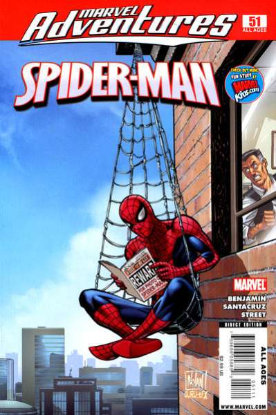Marvel Adventures Spider-Man #51 Comic Books - Covers, Scans, Photos  in Marvel Adventures Spider-Man Comic Books - Covers, Scans, Gallery