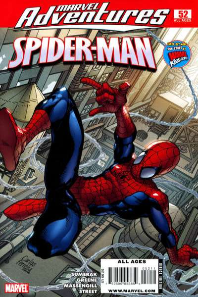 Marvel Adventures Spider-Man #52 Comic Books - Covers, Scans, Photos  in Marvel Adventures Spider-Man Comic Books - Covers, Scans, Gallery