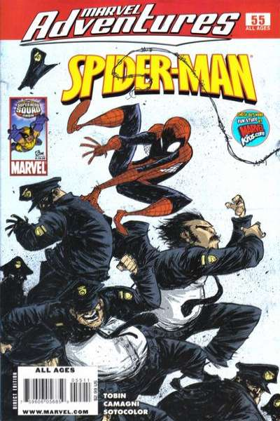 Marvel Adventures Spider-Man #55 Comic Books - Covers, Scans, Photos  in Marvel Adventures Spider-Man Comic Books - Covers, Scans, Gallery