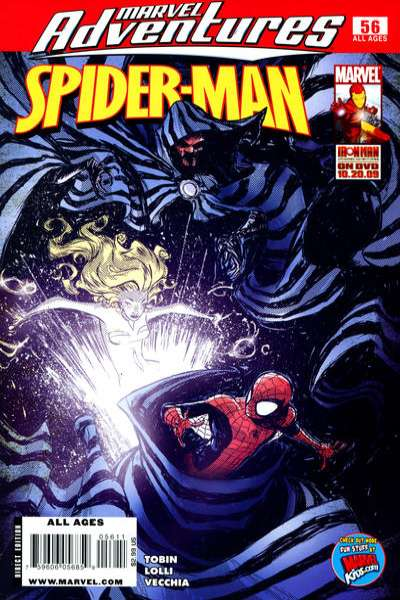 Marvel Adventures Spider-Man #56 Comic Books - Covers, Scans, Photos  in Marvel Adventures Spider-Man Comic Books - Covers, Scans, Gallery