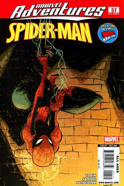Marvel Adventures Spider-Man #57 Comic Books - Covers, Scans, Photos  in Marvel Adventures Spider-Man Comic Books - Covers, Scans, Gallery