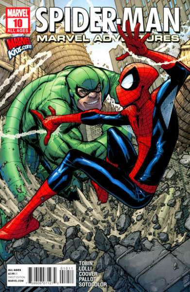 Marvel Adventures Spider-Man #10 Comic Books - Covers, Scans, Photos  in Marvel Adventures Spider-Man Comic Books - Covers, Scans, Gallery