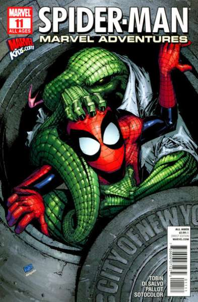 Marvel Adventures Spider-Man #11 Comic Books - Covers, Scans, Photos  in Marvel Adventures Spider-Man Comic Books - Covers, Scans, Gallery