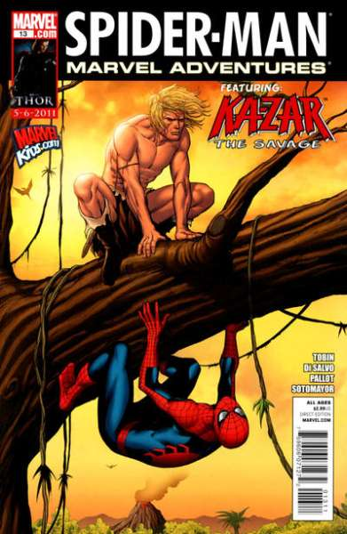 Marvel Adventures Spider-Man #13 Comic Books - Covers, Scans, Photos  in Marvel Adventures Spider-Man Comic Books - Covers, Scans, Gallery