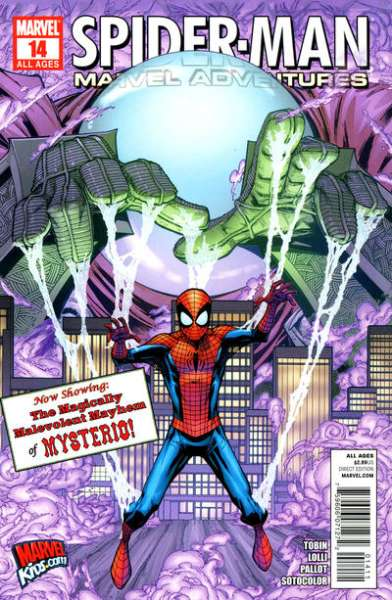 Marvel Adventures Spider-Man #14 Comic Books - Covers, Scans, Photos  in Marvel Adventures Spider-Man Comic Books - Covers, Scans, Gallery
