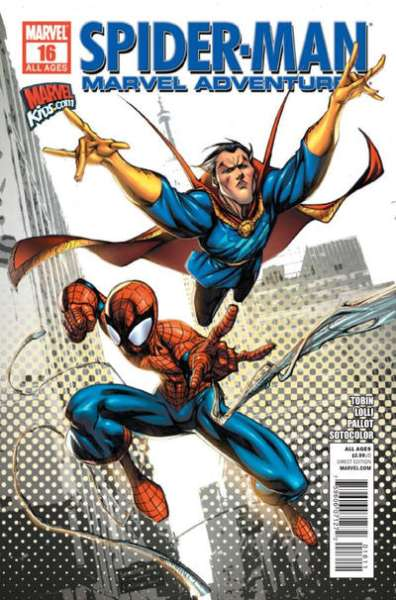 Marvel Adventures Spider-Man #16 Comic Books - Covers, Scans, Photos  in Marvel Adventures Spider-Man Comic Books - Covers, Scans, Gallery
