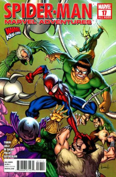 Marvel Adventures Spider-Man #17 comic books - cover scans photos Marvel Adventures Spider-Man #17 comic books - covers, picture gallery