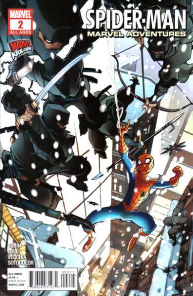 Marvel Adventures Spider-Man #2 Comic Books - Covers, Scans, Photos  in Marvel Adventures Spider-Man Comic Books - Covers, Scans, Gallery
